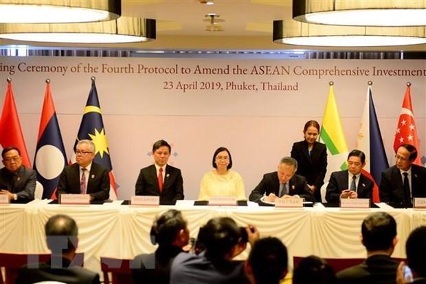 China, Japan und Südkorea verpflichten sich zur Unterstützung der ASEAN - ảnh 1