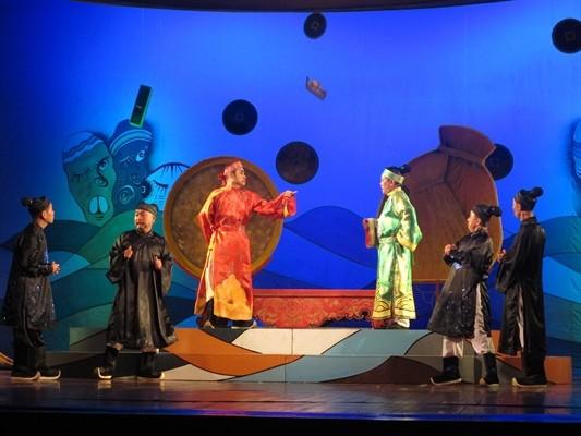 Das Landesfestival für den Volksgesang Tuong und das Theater-Drama  - ảnh 1