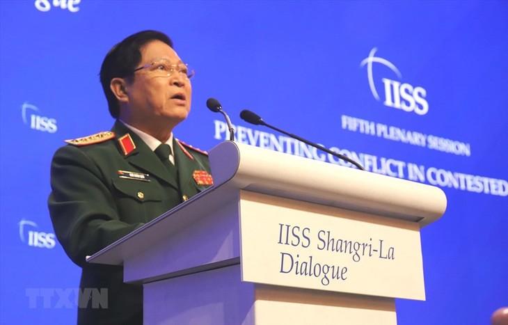 Beeindruckende Beiträge Vietnams zum Shangri-La-Dialog 2019 - ảnh 1
