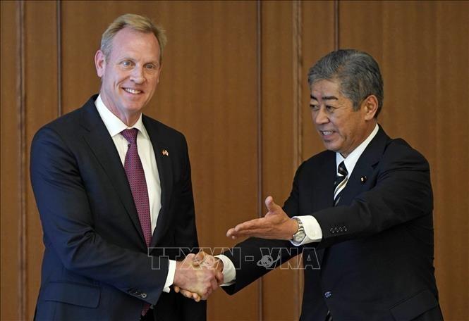 Japan und USA fördern Zusammenarbeit in Weltraum und Cyberspace - ảnh 1
