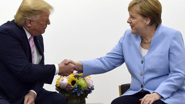 G20-Gipfel: US-Präsident Donald Trump lobt Handelsbeziehung mit Deutschland - ảnh 1