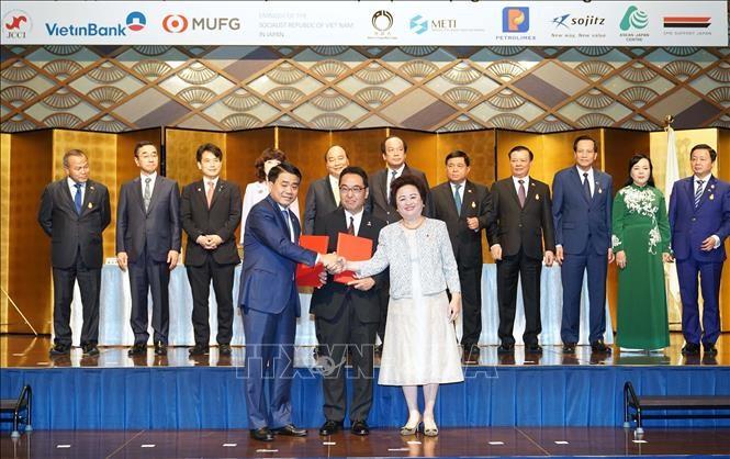 Führende japanische Konzerne investieren fast vier Milliarden US-Dollar in Hanoi - ảnh 1