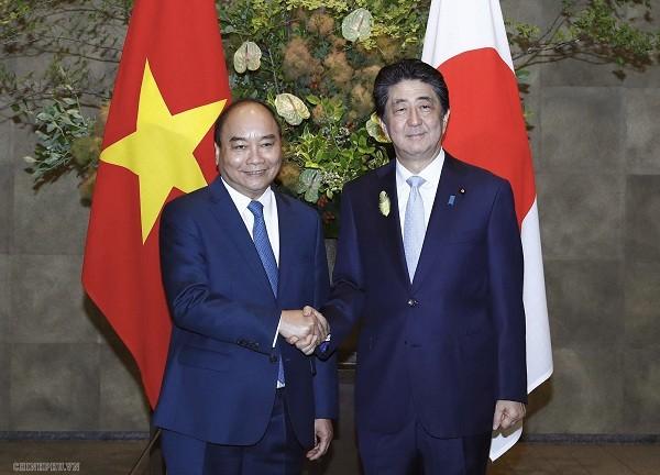 Hochrangiges Vietnam-Japan-Gespräch - ảnh 1