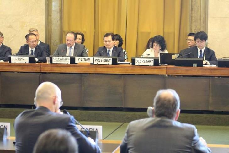Vietnam fördert Diskussionen im Rahmen der Genfer Abrüstungskonferenz - ảnh 1