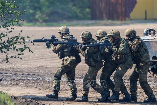 Deutschland weist US-Forderung nach Bodentruppen in Syrien zurück - ảnh 1