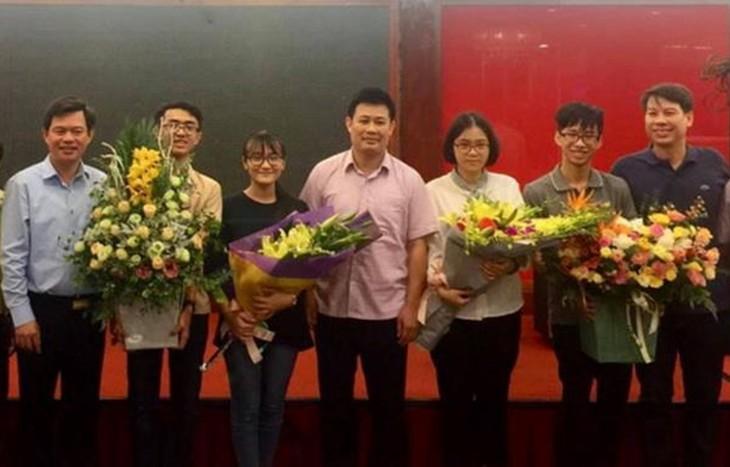 Alle vier vietnamesische Schüler gewinnen Medaillen bei der internationalen Biologie-Olympiade - ảnh 1