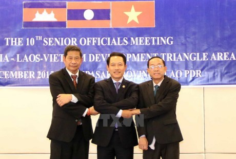 柬老越发展三角区贸易促进和便利化协定第4轮谈判启动 - ảnh 1