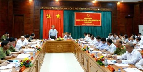 越南全国各地为选举工作做好准备 - ảnh 1