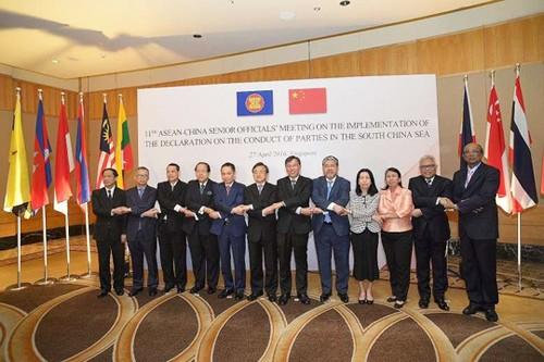 中国提议与东盟发表一项有关领土争端的声明 - ảnh 1