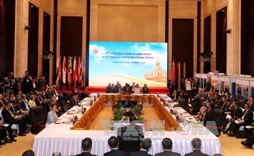 中国与东盟通过应对海上紧急事态外交高官热线平台指导方针 - ảnh 1