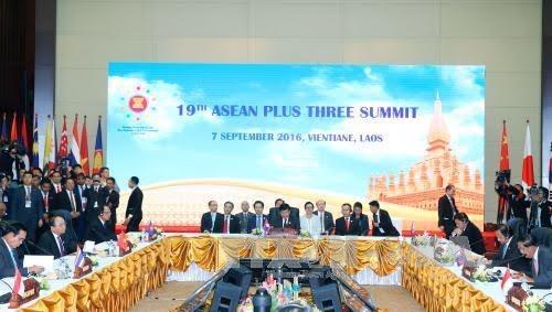 阮春福总理出席第十九次东盟与日本领导人会议 - ảnh 1