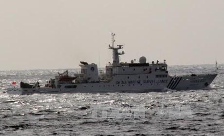中国海警船进入与日本争议海域 - ảnh 1