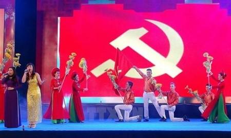 越南各大报发表社论纪念越南共产党成立87周年 - ảnh 1