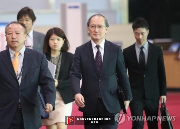 韩国和日本官员讨论朝鲜问题 - ảnh 1