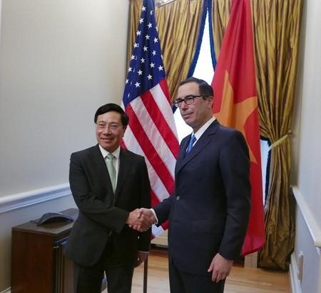 越南政府副总理兼外交部长范平明对美国进行正式访问 - ảnh 3