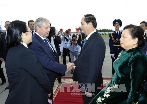 陈大光:越南-白俄罗斯关系具备更大发展潜力 - ảnh 1