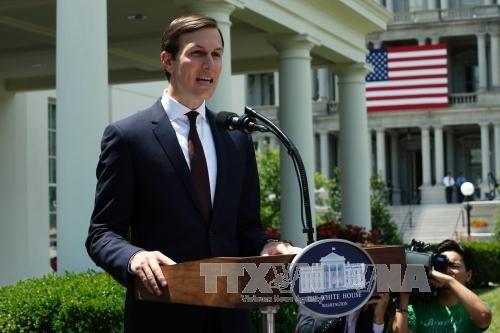 美国承诺支持中东和平进程 - ảnh 1