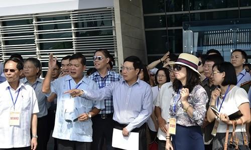 初步检查2017年亚太经合组织领导人会议周的准备工作 - ảnh 1