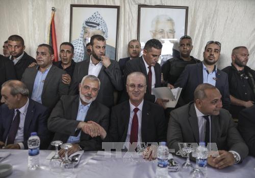 巴勒斯坦政府三年来首次在加沙地带举行内阁会议 - ảnh 1