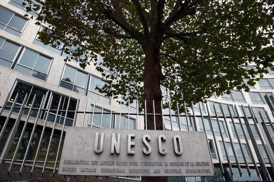 美国与以色列正式通报退出联合国教科文组织 - ảnh 1