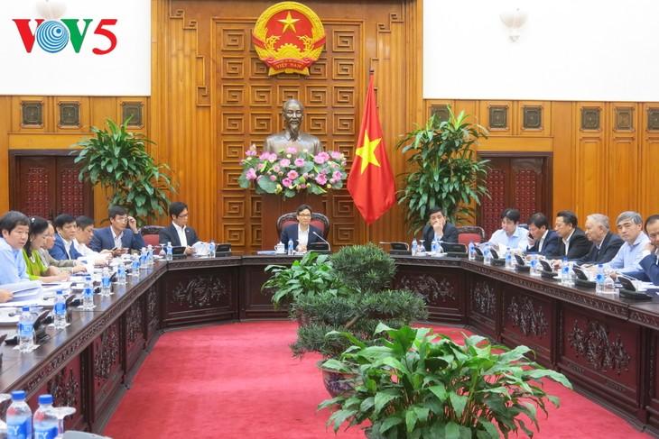 越南可持续发展与提高竞争力国家委员会在河内举行会议 - ảnh 1
