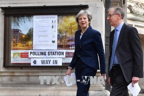 英国地方政府换届选举开始 - ảnh 1