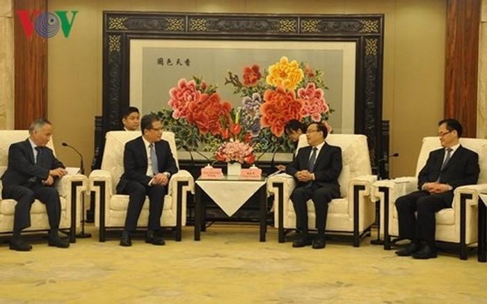越南驻华大使与重庆市市长举行工作座谈 - ảnh 1