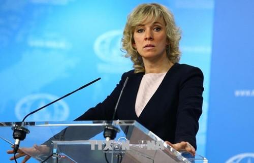 俄罗斯反对美国单方面对伊朗实施制裁 - ảnh 1