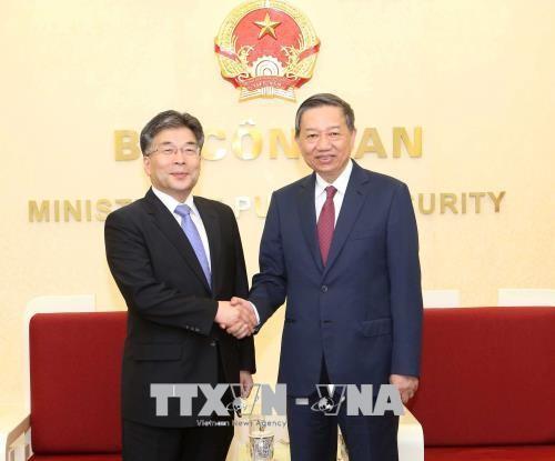 越南与韩国加强打击犯罪领域合作 - ảnh 1