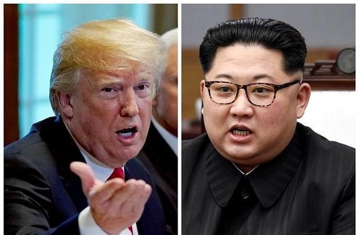 美国与朝鲜官员在板门店讨论双边首脑会谈事宜 - ảnh 1