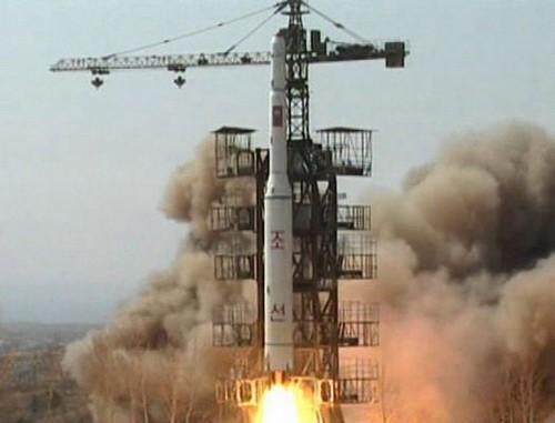 Nordkorea hält an Satellitenstart fest - ảnh 1