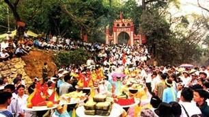 Vorbereitung des Festes im Hung-Tempel - ảnh 1