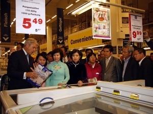 Woche der vietnamesischen Produkte in Metro-Supermärkten in Deutschland eröffnet - ảnh 1