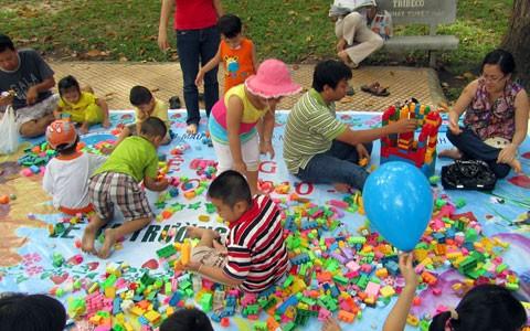 Weltkindertag in Vietnam gefeiert - ảnh 1
