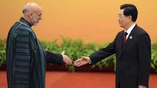 China und Afghanistan wollen strategische Partnerschaft eingehen - ảnh 1