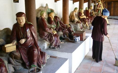 Dau Pagode - die älteste Pagode Vietnams - ảnh 2