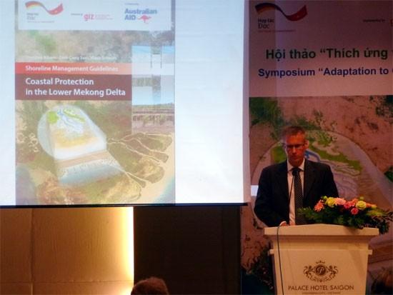 Deutschland überreicht geologische Fachdaten und Hinweise zur Küstenverwaltung an Vietnam - ảnh 1