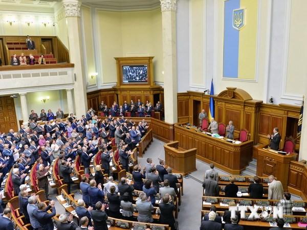 Ukraine: Zentrale Wahlkommission beendet die Registrierung der Kandidaten der Parlamentswahl - ảnh 1