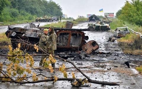 Frieden in der Ukraine noch fern - ảnh 1