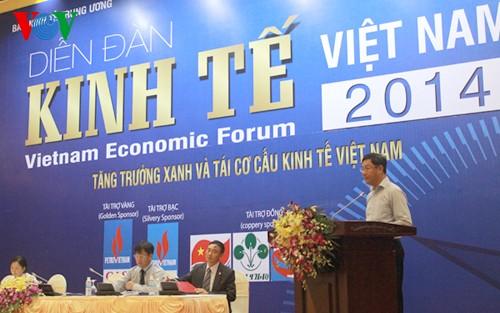 Vietnamesisches Wirtschaftsforum 2014 - ảnh 1