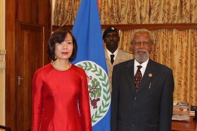 Vietnam und Belize verstärken ihre Beziehungen - ảnh 1