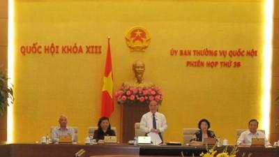 Ständiger Parlamentsausschuss beginnt seine 38. Sitzung - ảnh 1