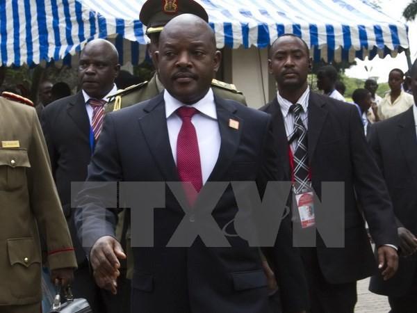 Burundis Präsident tritt zum ersten Mal nach dem Putschversuch auf - ảnh 1