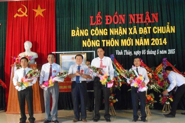 Der führende Kreis Vinh Linh bei der Neugestaltung ländlicher Räume der Provinz Quang Tri - ảnh 1