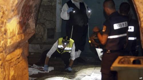 Drei Tote bei Anschlag in Jerusalem - ảnh 1