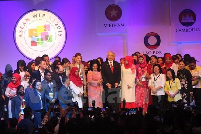 Delegation der KPV nimmt an ASEAN-Konferenz über politisch aktive Frauen teil - ảnh 1