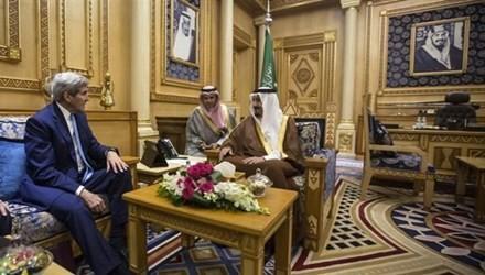 US-Außenminister reist nach Saudi-Arabien für Diskussion über Syrien - ảnh 1