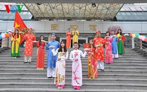 Vietnamesischer Festtag in Guangxi - ảnh 1