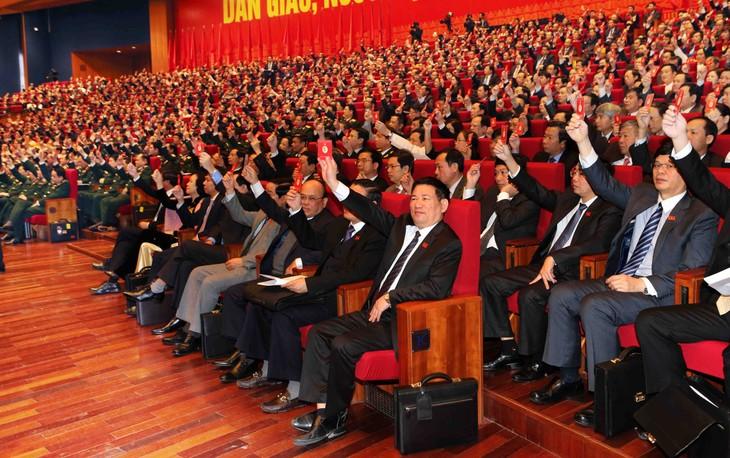 Mitteilung der Ergebnisse des Parteitags an diplomatisches Korps und internationale Organisationen - ảnh 1