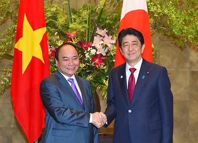 Vizeaußenminister Bui Thanh Son gibt Interview über Japanbesuch von Premierminister Nguyen Xuan Phuc - ảnh 1